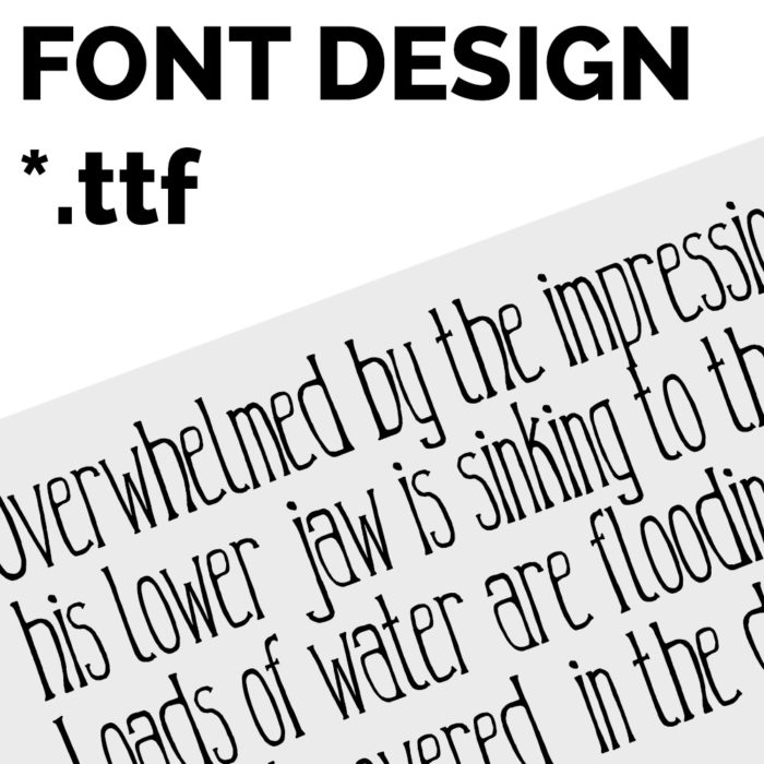 I Am A Font